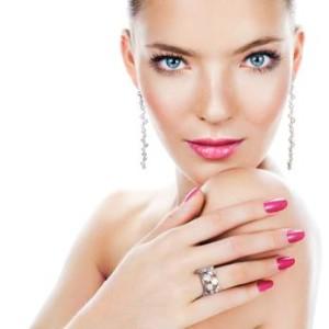 Beauty with Jewelrey