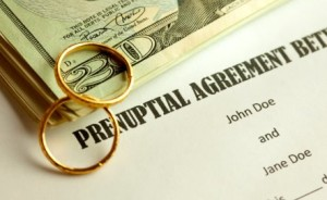 Prenuptial agreement in California