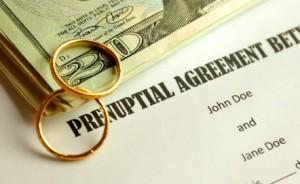 Prenuptial agreement in California