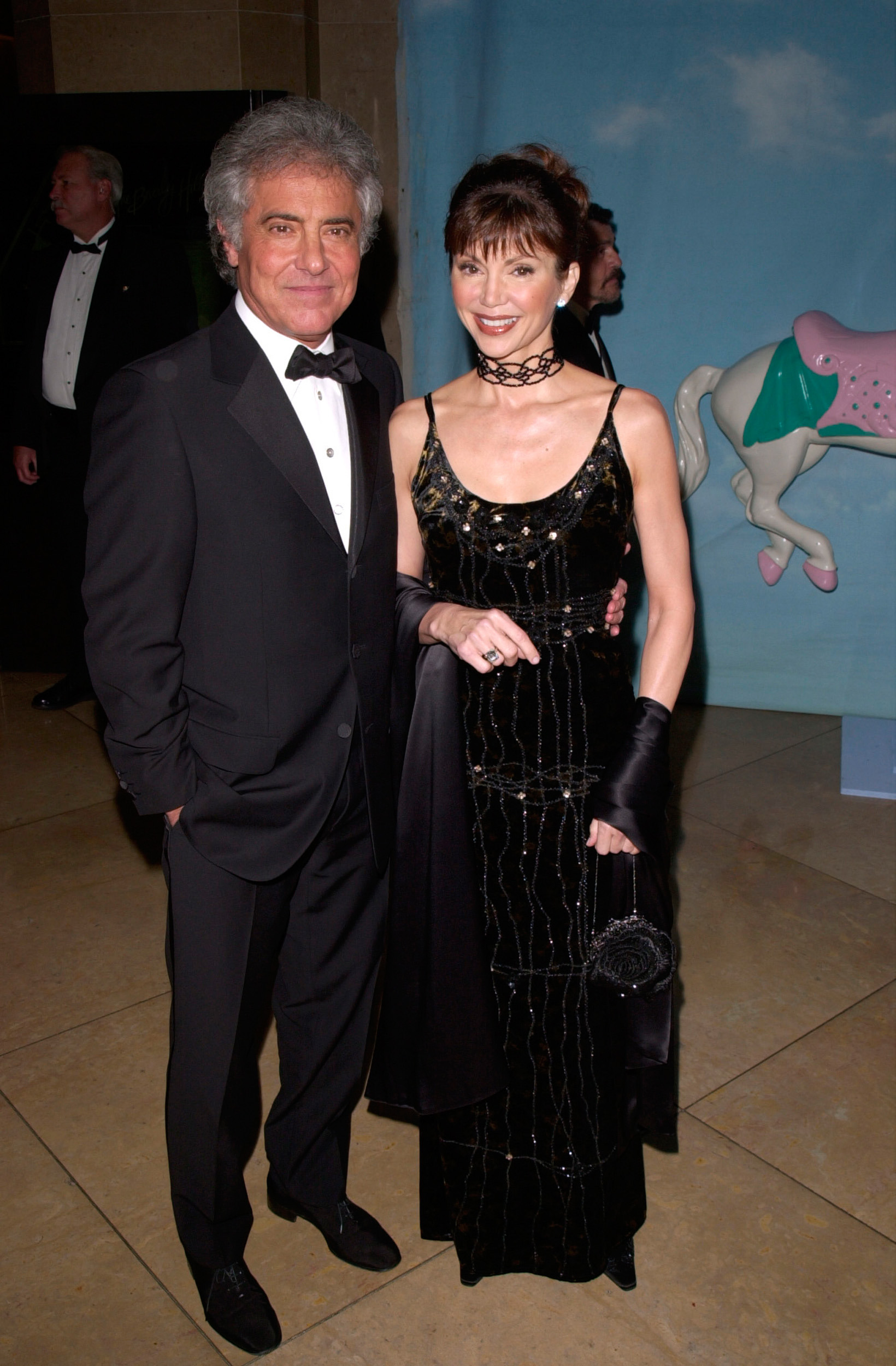 Victoria Principal and Harry Glassman